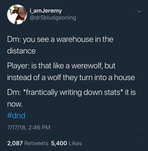 d&d meme warehouse