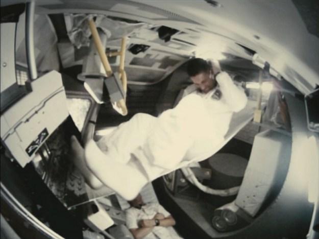 apollo 18 movie sleeping hammocks