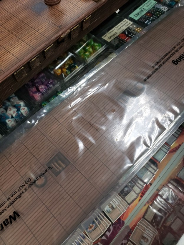 d&d dnd falling star ship mini miniature deck floor insert overlay