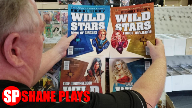 wild stars comic book 35th anniversary thumbnail