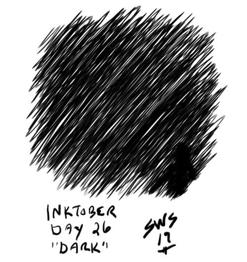 inktober 2019 day 26 dark shane stacks