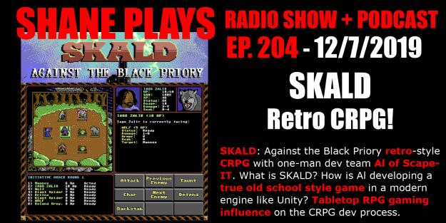 skald crpg shane plays podcast title 12-7-2019