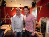 July - Eurovision's Ryan Dolan joined me in studio at the start of July