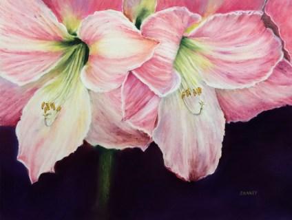 Lily Flower Art