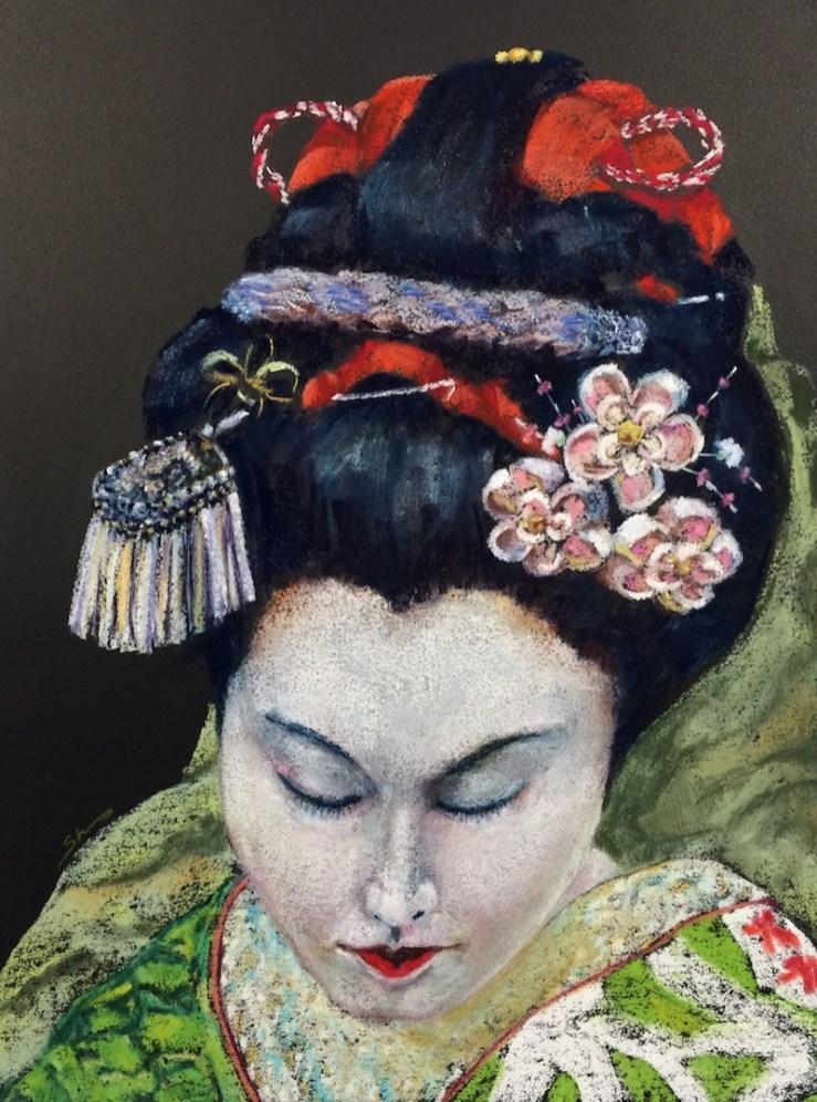 Geisha Painting