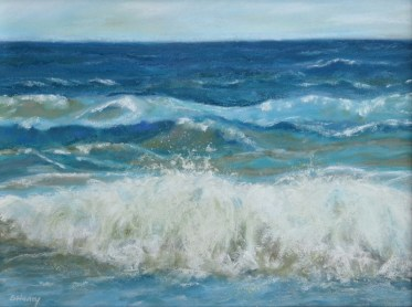 Ocean Waves Painting