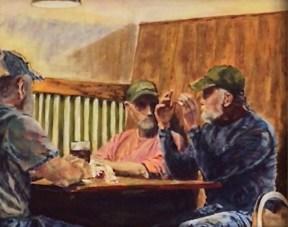 Western pastel art