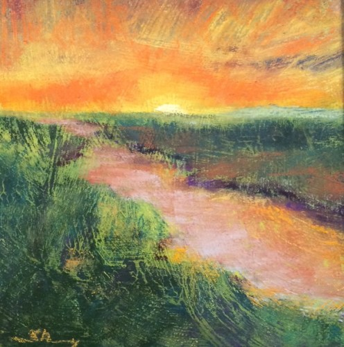 Marsh Landscape Art