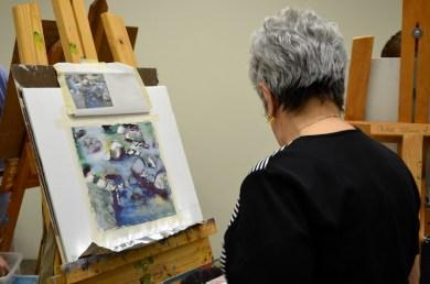 Paint Around Houston Texas Art Workshop