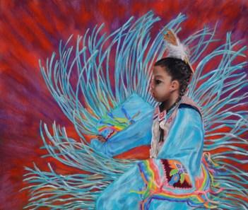 Native American Artwork Pow Wow Dancer