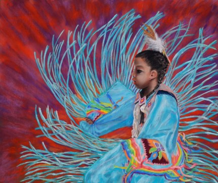 Native American Artwork Pow Wow Dancer