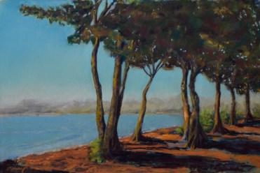 Sunset Promenade Art