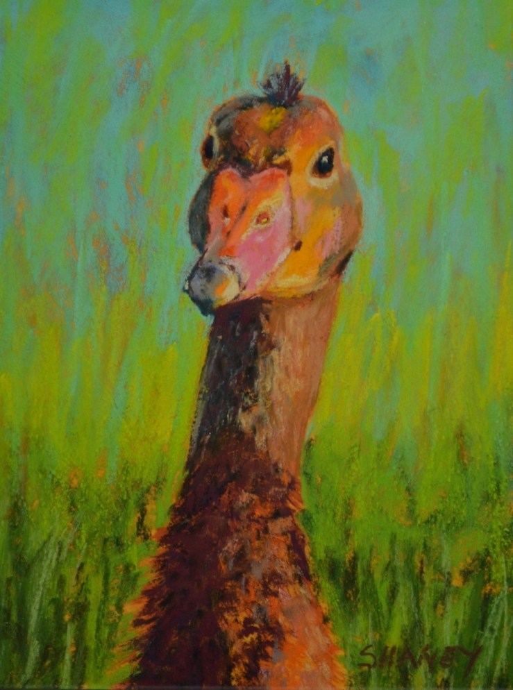 Whistler Duck Painting