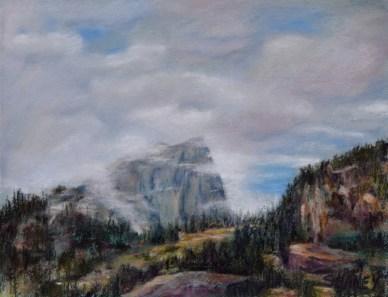 Hallet's Peak painting