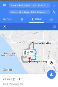 Villa to Seminyak Central