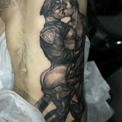 zhuo dan ting tattoo work tom of finland tattoo a 1