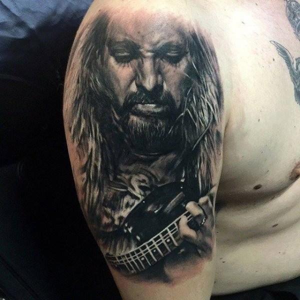 Zhuo-Dan-Ting-Tattoo-work-卓丹婷纹身作品肖像纹身