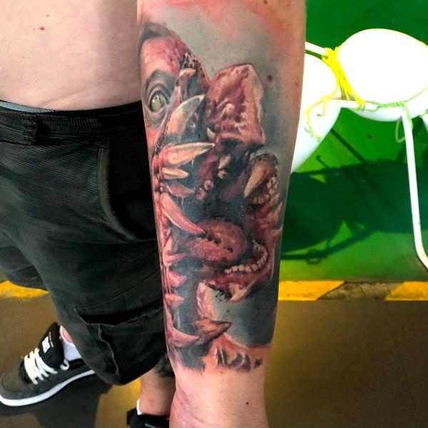 Zhuo-Dan-Ting-Tattoo-work-卓丹婷纹身作品-写实彩色纹身