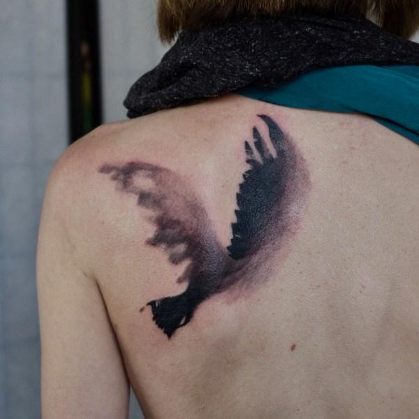 Zhuo-Dan-Ting-Tattoo-work-卓丹婷纹身作品-鸟纹身
