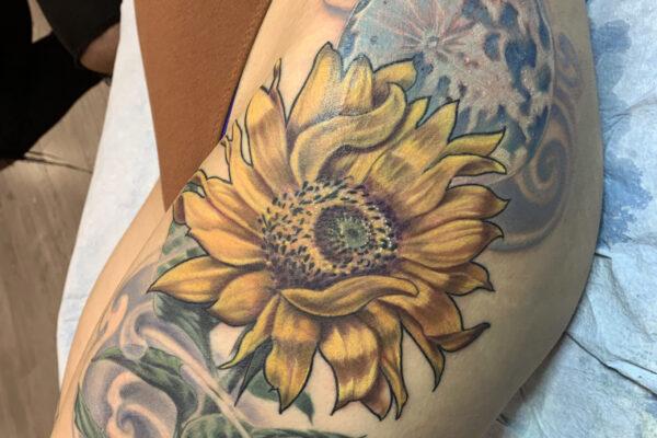 josh sunflower shanghaitattoo folsom