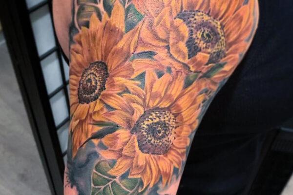 turpin sunflowers shanghaitattoo folsom