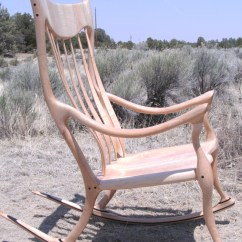 Sam Maloof Rocking Chair Plans Hal Taylor Brown Leather Swivel Plan Wood Free Inspired Pdf Woodworking Online