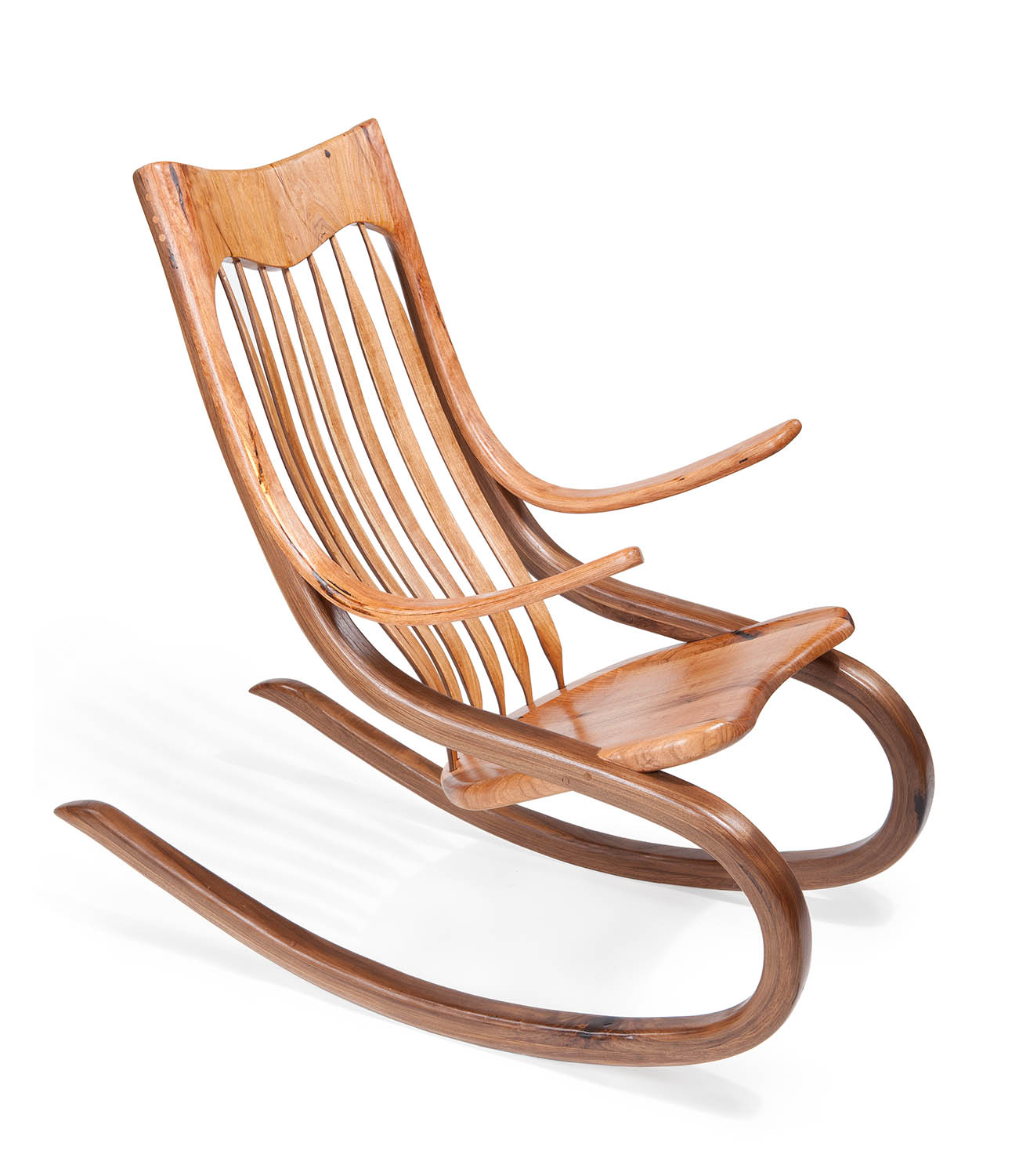 Rockin Chairs Custom Made Mesquite Rocking Chairs Shangrilawoodworks 39s