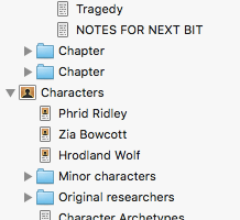 Writing with Scrivener and Scapple