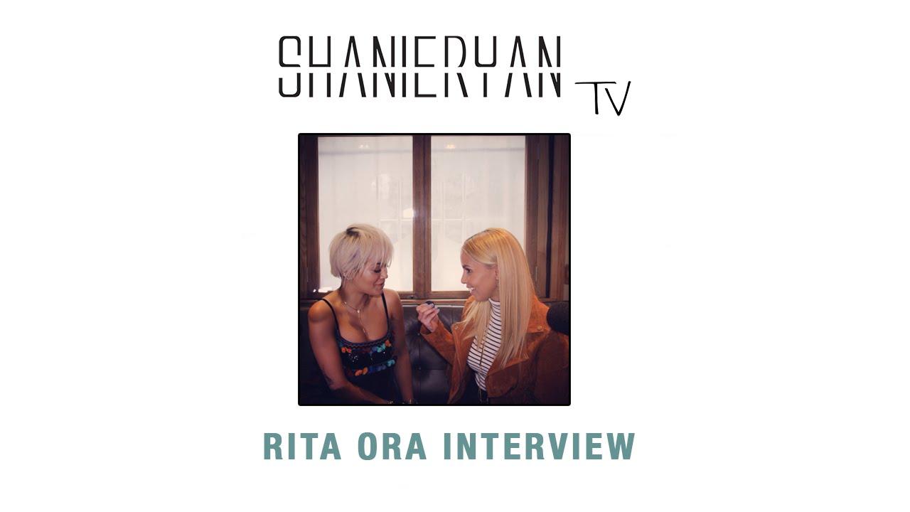 Shanie Ryan TV – Rita Ora Interview