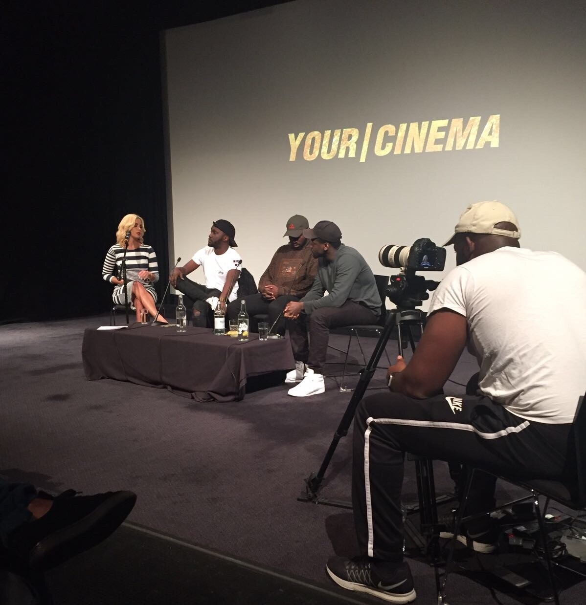 Shanie Hosts The #YourCinema Live Discussion / Q&A @The BFI…