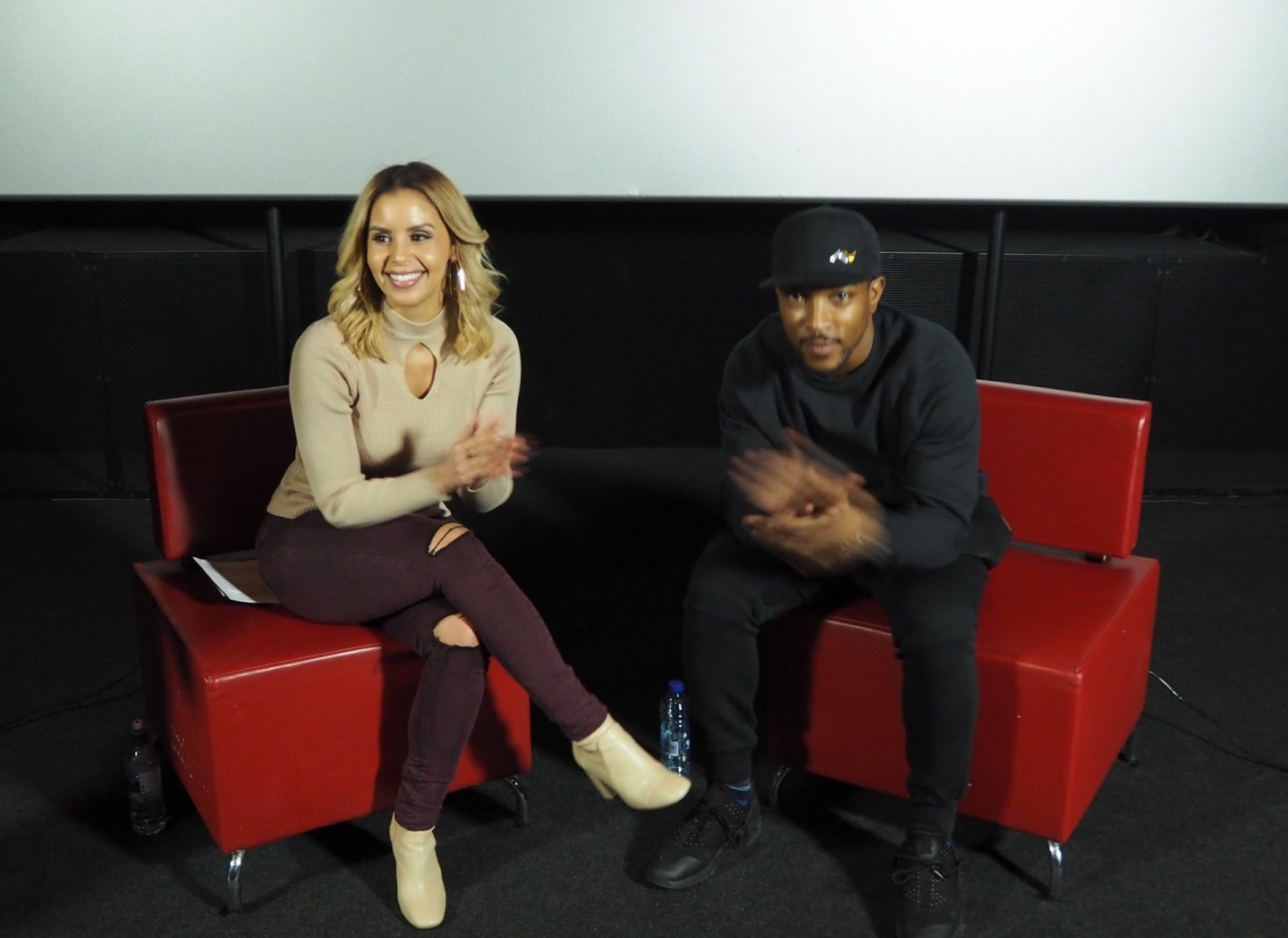 Shanie Interviews Film & TV Star Ashley Walters at 'Your Cinema' Live…