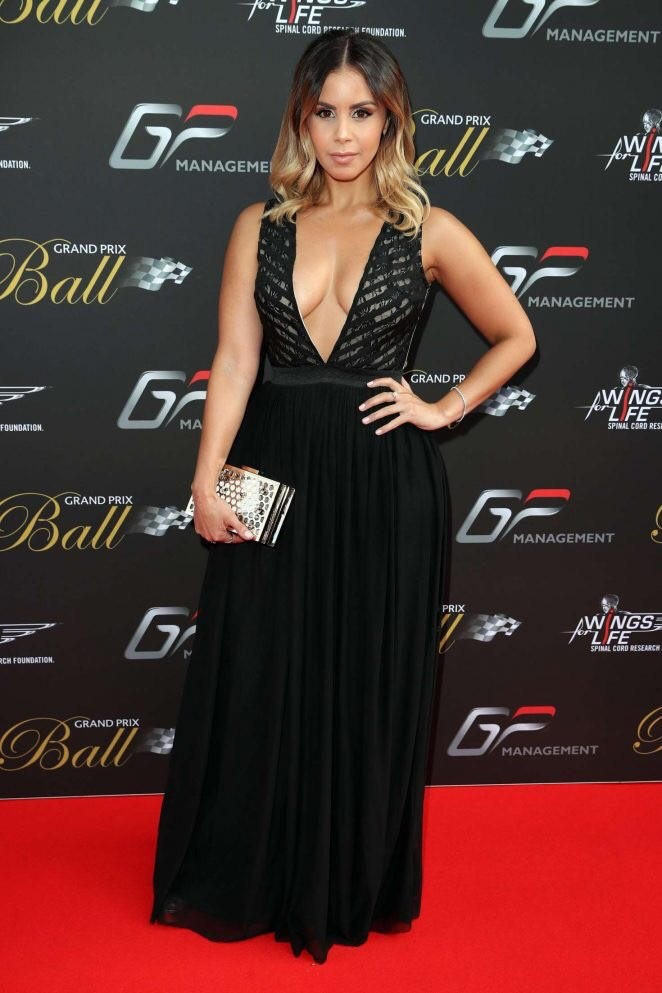 STYLE DIARY… Shanie attends the Grand Prix Ball