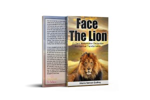 Face The Lion by shanie salmon-godfrey
