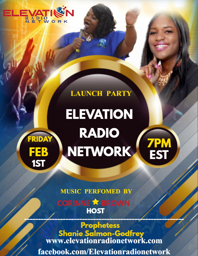 Elevation Radio Lauch Party flyer