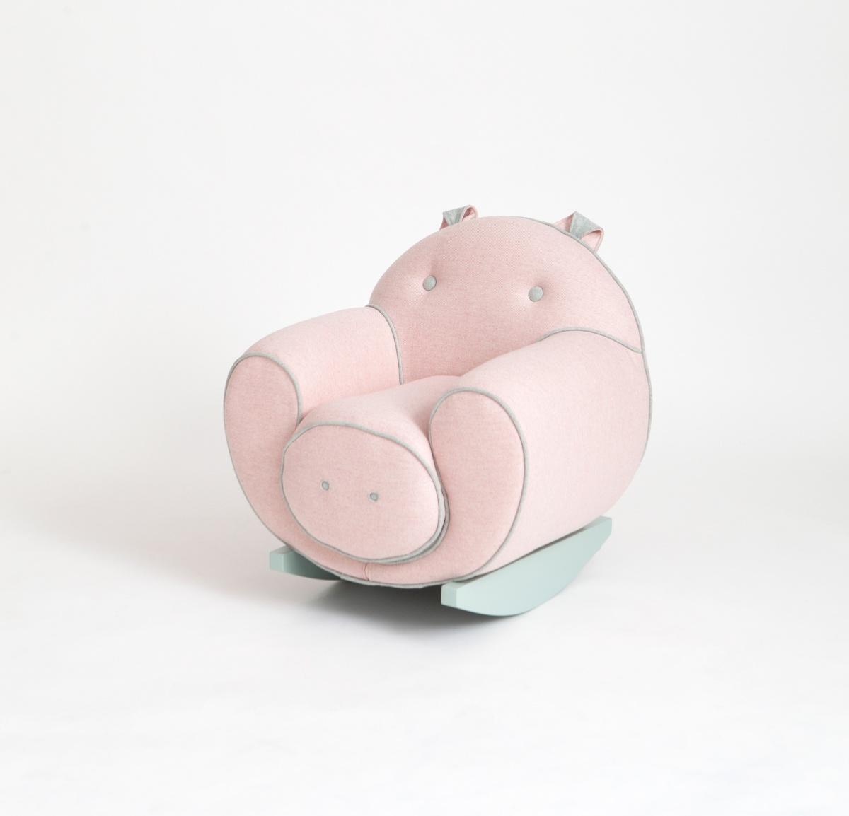Pig Rocking Chair  Sarit Shani Hay