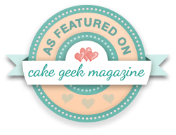 Cake Geek Magazine Badge