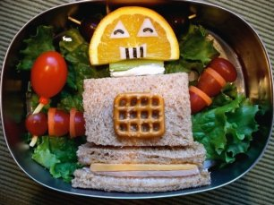 Robot bento lunch