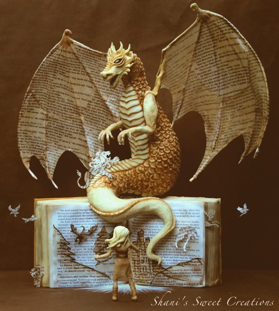 Dragon cake - awards