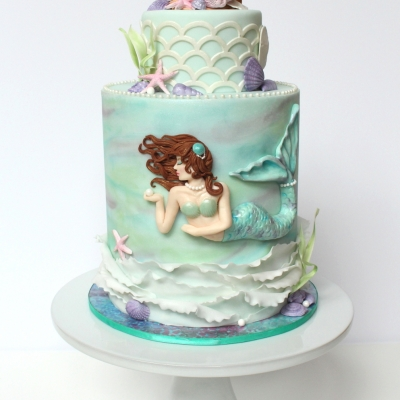 mermaid cake by Shani's SweetArt