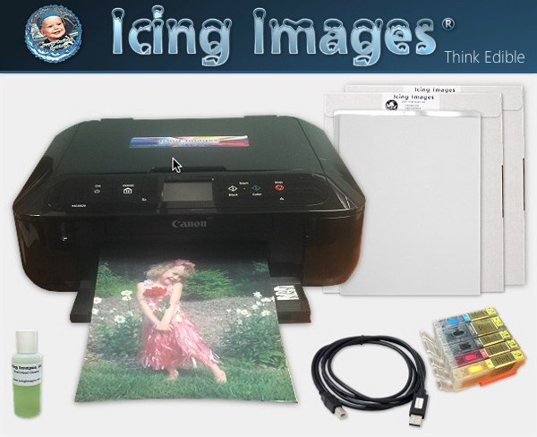 Shani's Sweet Art launch celebration giveaway. Icing images printer system prize