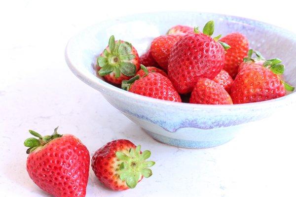 fresh strawberry Swiss meringue buttercream