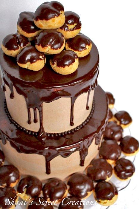 Hot cake trends mash-up cake