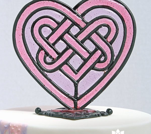 Stained Glass cake topper tutorial