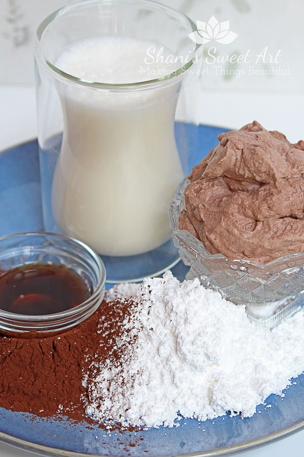 Chocolate whipped cream recipe