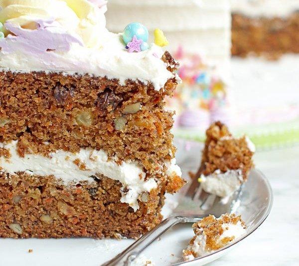 carrot cake recipe - rich, moist & flavorful