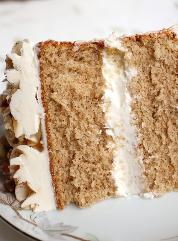 Spiced Sponge Cake Recipe