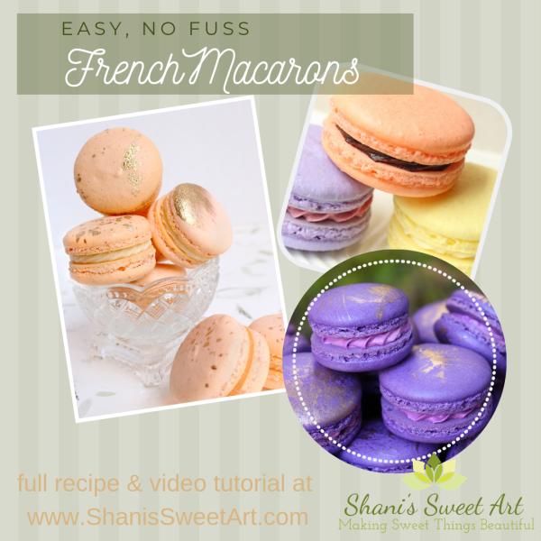 easy macarons recipe & tutorial