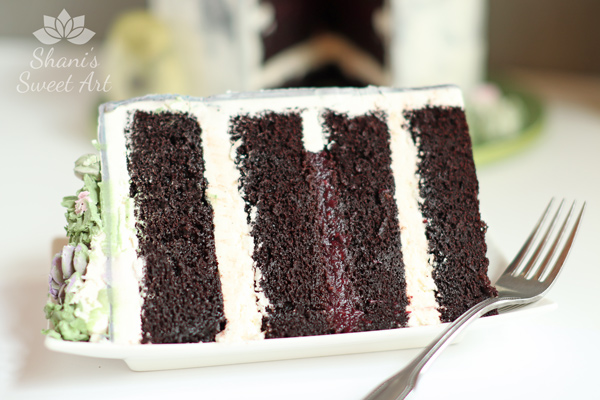 Deep Dark Chocolate Cake Recipe