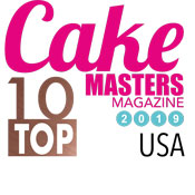 Cake Masters top 10 - 2019 Badge