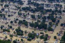 Aerial photos of Louisiana Flood 2016